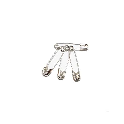 Safety Pins Bundled in 4's