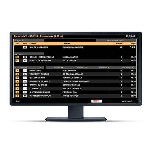 Alge Display Equestre Pro Video Output