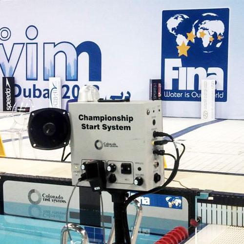 Colorado Championship Start System FINA Event