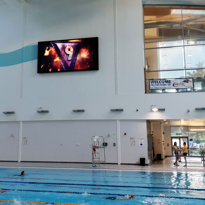 Colorado LED Video Screen - Corby Pool