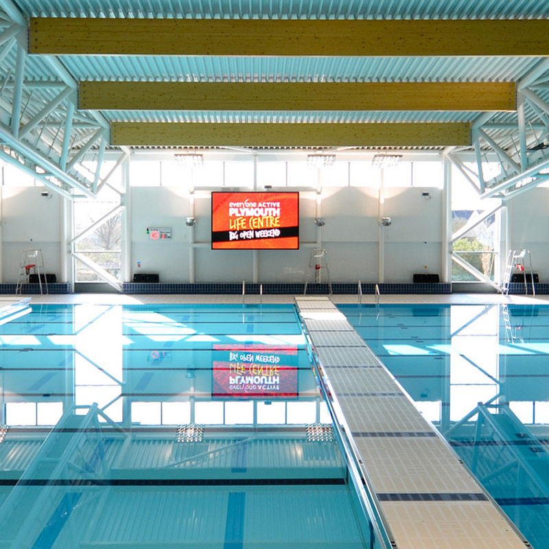 Colorado LED Video Screen - Plymouth Pool