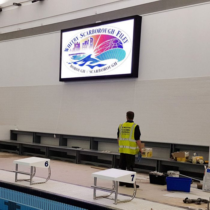 Colorado LED Video Screen - Scarborough Pool
