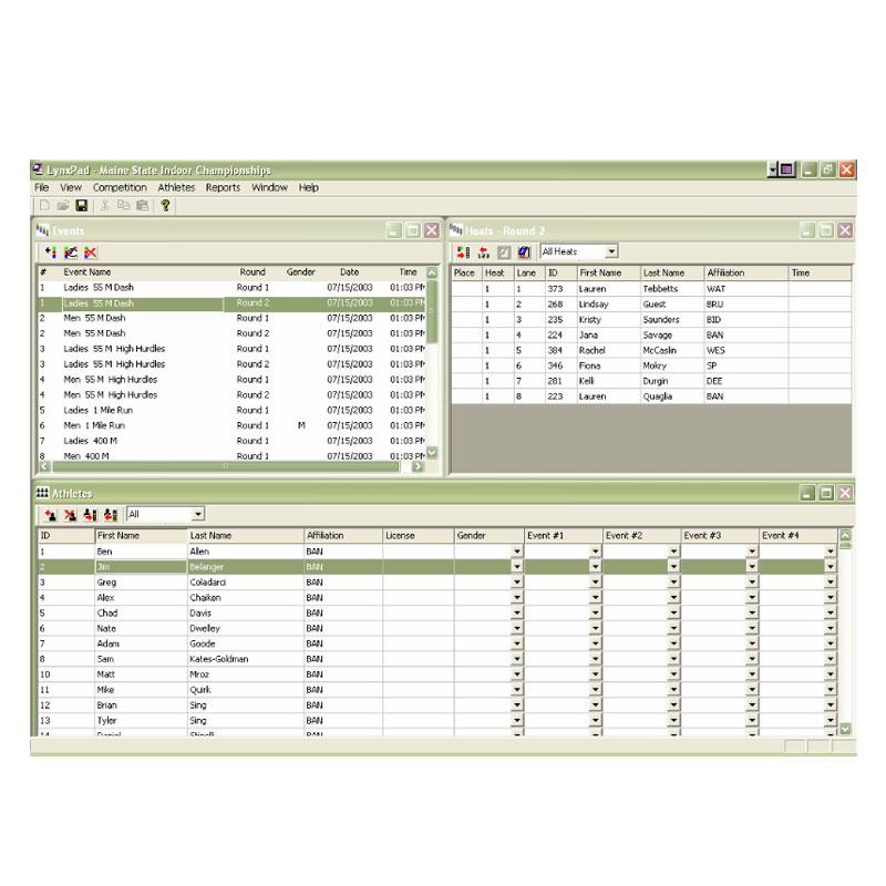 Lynx System Developers - -LynxPad Meet Management Software