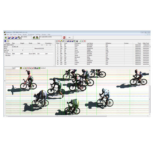 Lynx System Developers - Finishlynx Software - Cycling Example