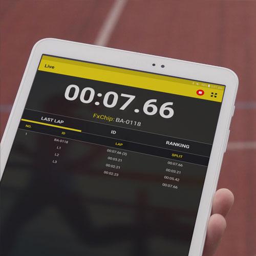 MyFreelap Athletics App - IPAD