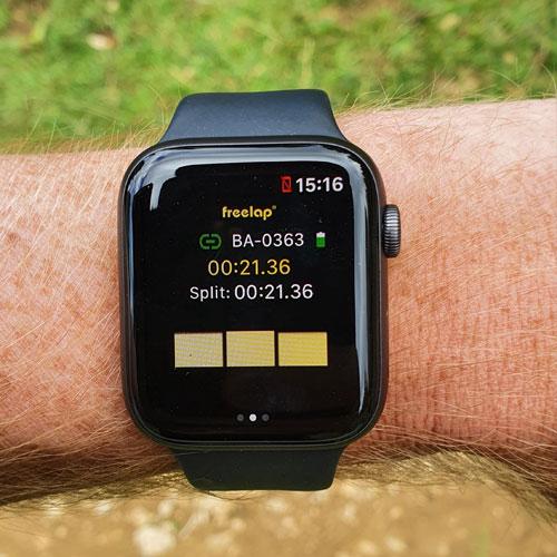 MyFreelap Athletics App - Watch