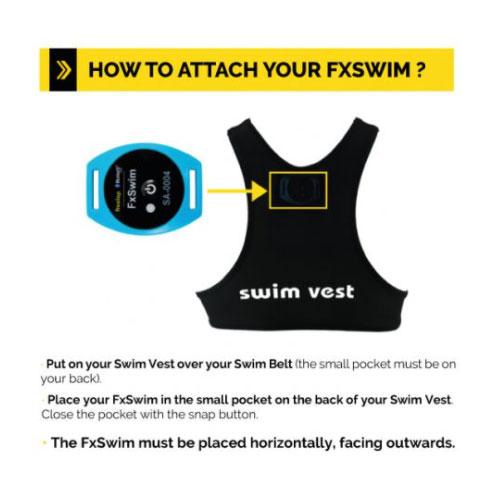 Freelap FXSwim Transponder - Fitting Instructions