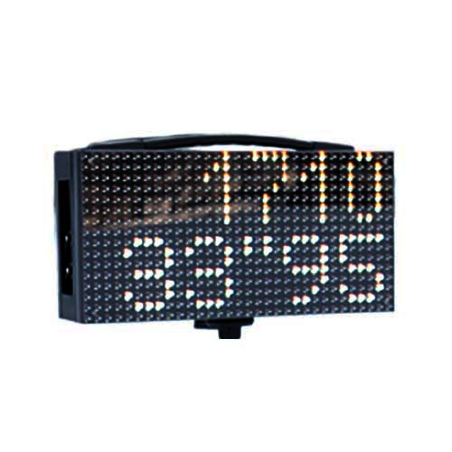 Freelap LED Display showing times