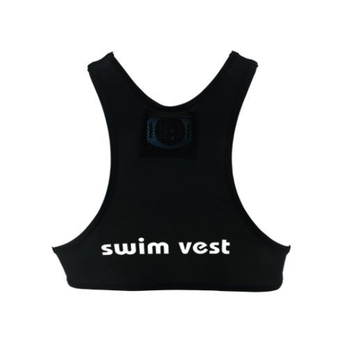 Freelap Swim Vest - Rear View