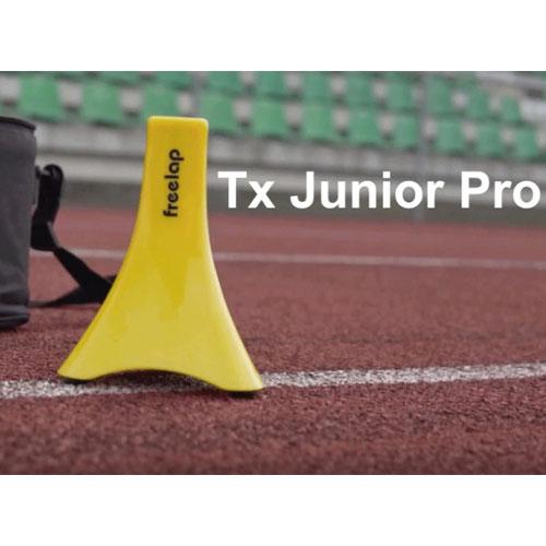 Freelap TX Junior Pro on an Athletics Track