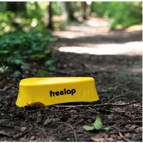 Freelap TX Track Pro in a forest