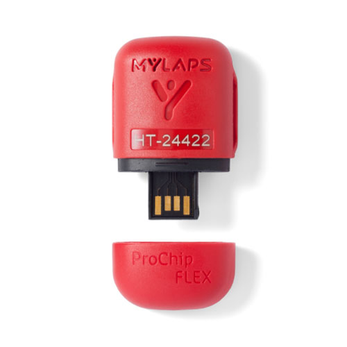 Mylaps ProChip Flex Personal Transponder Front View Cap Removed