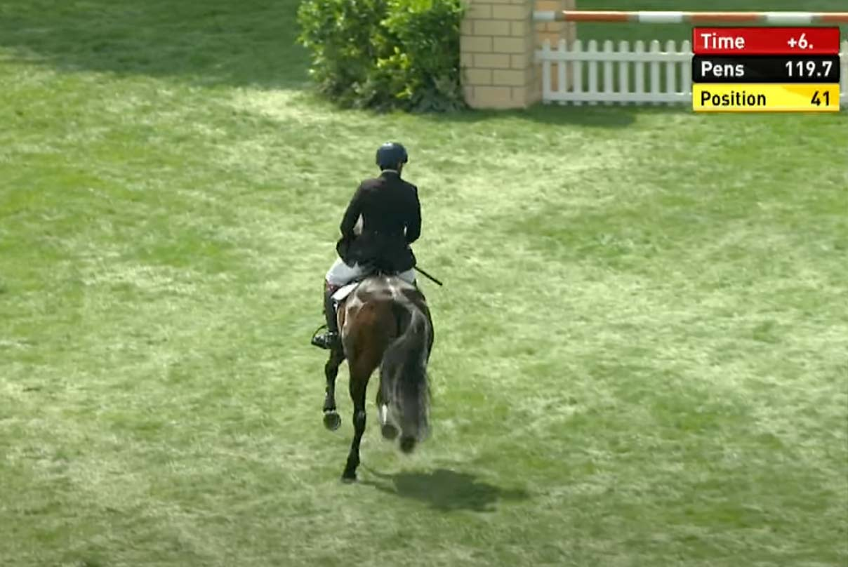 Television Graphics Services at a major equestrian event