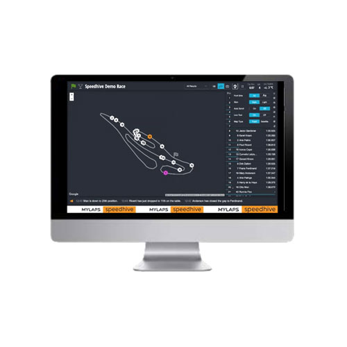 Mylaps Speedhive Live Timing - Map Tracking