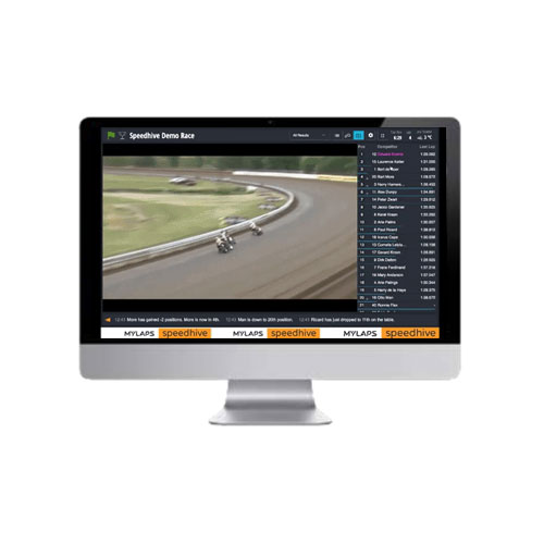 Mylaps Speedhive Live Timing - Video Feed