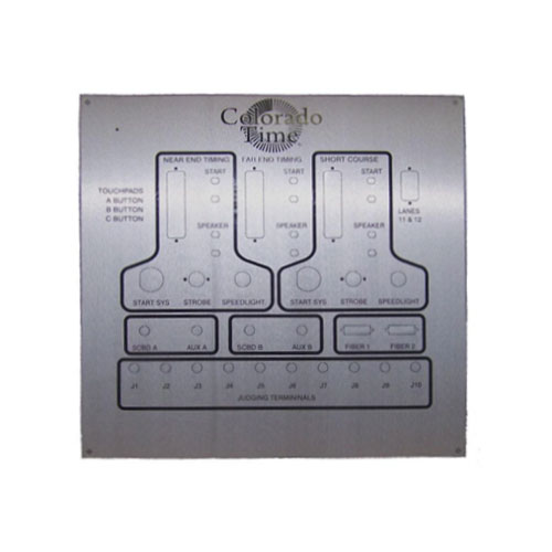 Colorado Time Systems Timing Wall Plate