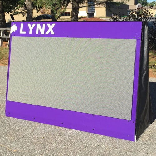 Large LED Video Infield Display for Athletics - Blank
